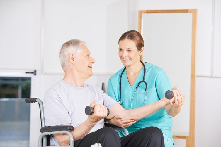 Физические упражнения при рассеянном склерозе